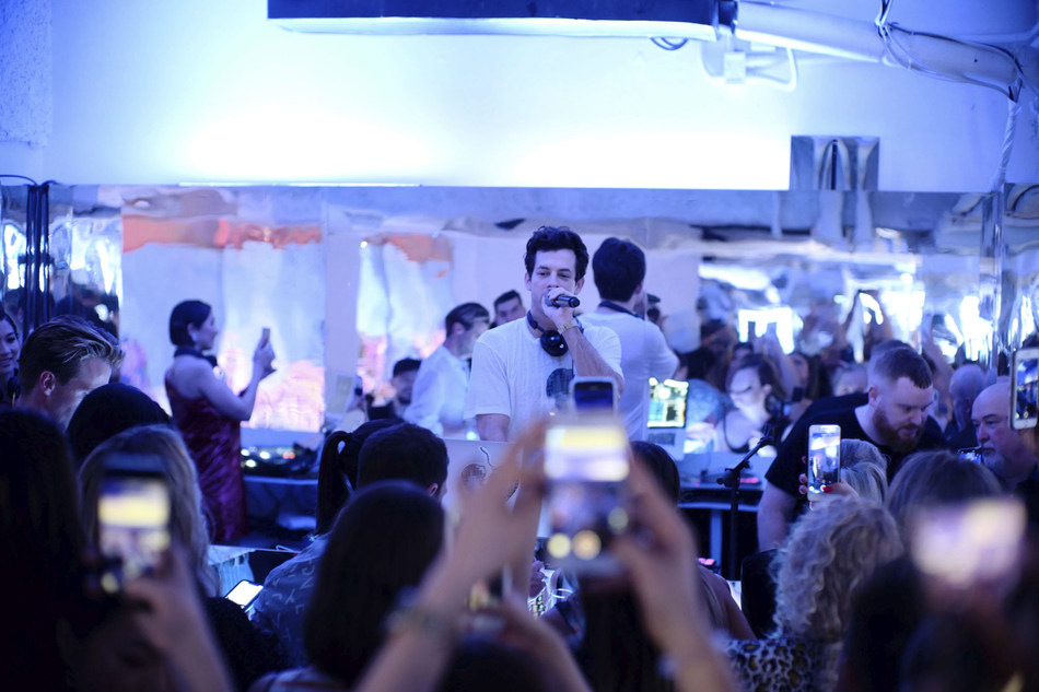 Acclaimed producer and DJ Mark Ronson headlined the invitation-only experience.