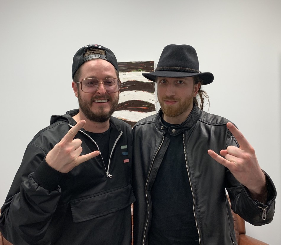 Alex Martel and Olivier Primeau join forces for Montebello Rock! (CNW Group/Montebello Rock)