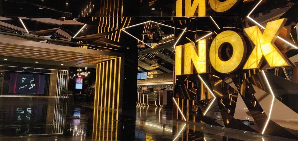 Entrance of INOX at Marina Mall Chennai (PRNewsfoto/INOX Leisure Ltd)