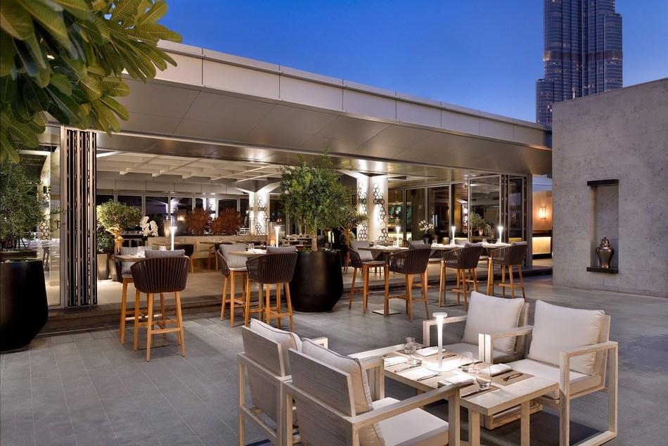 Cabana in Address Dubai Mall