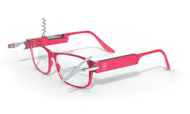 Survival Rx™, prescription glasses with a detachable pocket knife by GlassesUSA.com and Victorinox Swiss Army. Available online exclusively via pre-order, starting at $129.
