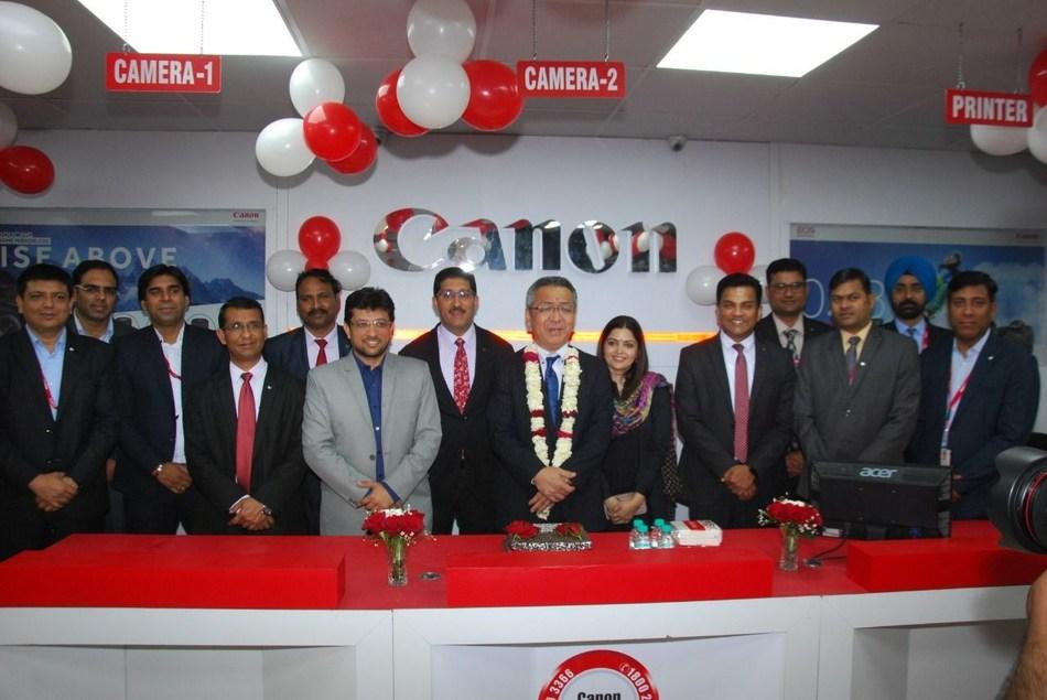 Canon ASF level 3 center Ludhiana (PRNewsfoto/Canon India)