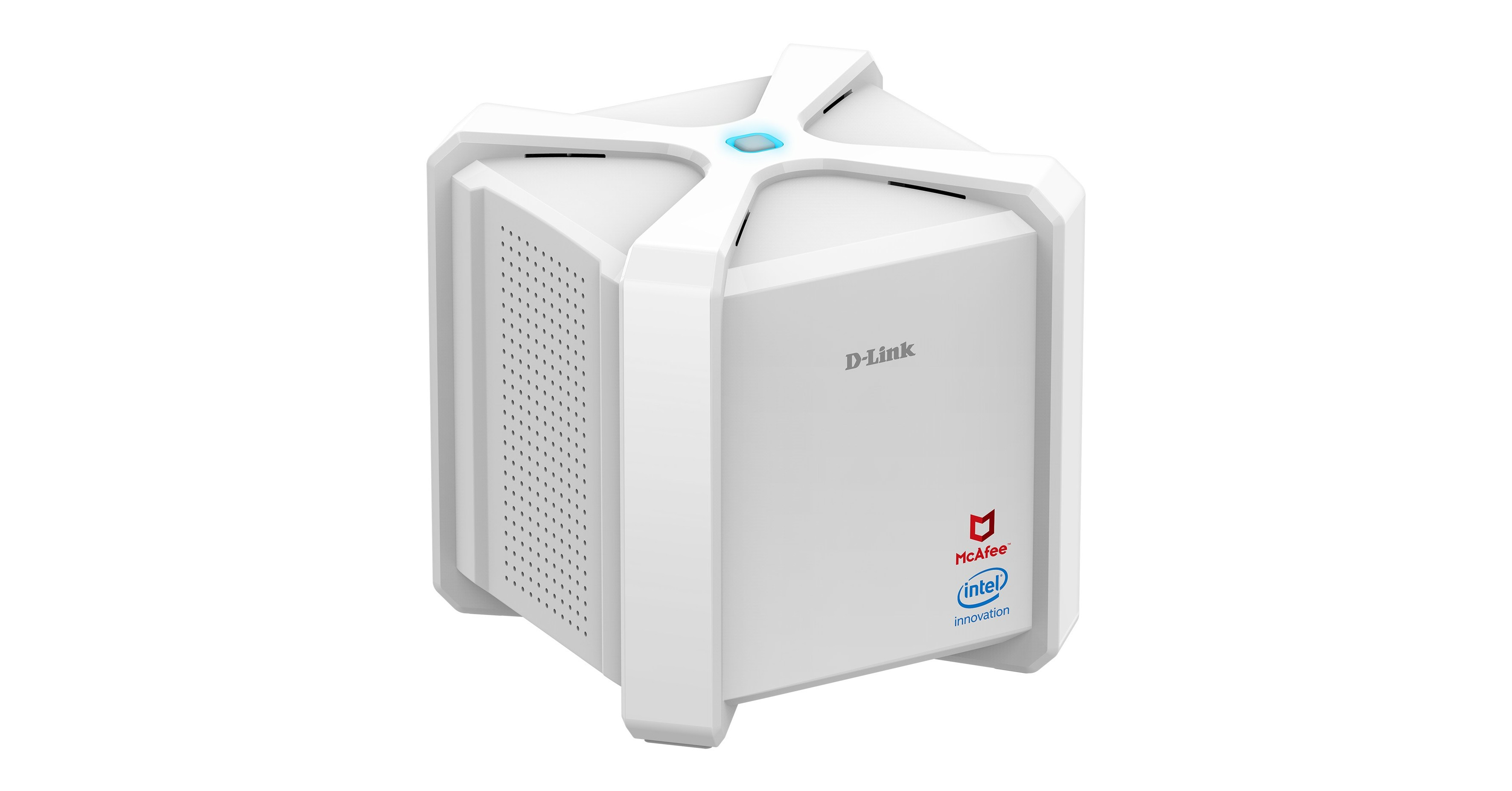 D-Link AC2600 Wi-Fi Router Powered by McAfee and Intel's
