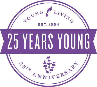 Young Living Celebrates 25 Years as the Global Leader in Essential Oils