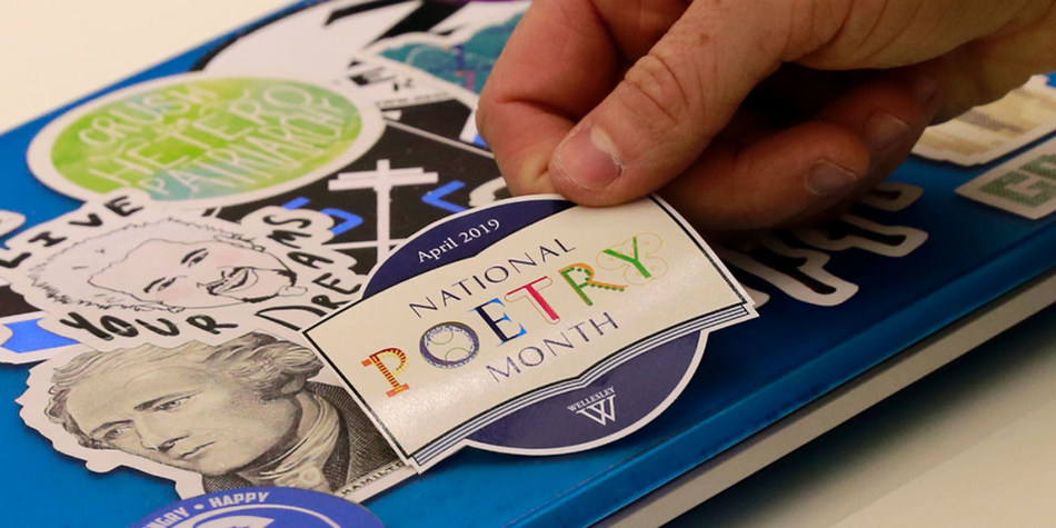 To celebrate National Poetry Month, Wellesley College is collaborating with Mass Poetry to bring poetry to the MBTA through Poetry on the T; and a month of community events and performances make Wellesley a hub for celebrations of the power of poetry.