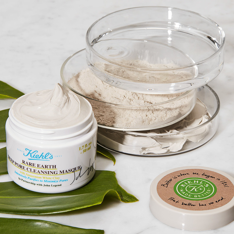 Kiehl's is proud to introduce the new Kiehl's Made Better x John Legend Limited Edition Rare Earth Deep Pore Cleansing Mask, which will benefit The Earth Day Network in the United States.