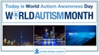 This World Autism Awareness Day, April 2nd, Light It Up Blue with Autism Speaks Canada to Increase Global Understanding & Acceptance of People with Autism