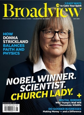 May 2019 Broadview cover (CNW Group/Broadview Magazine)