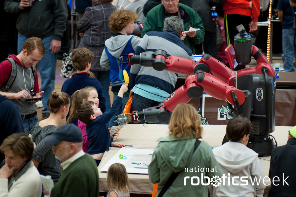 National Robotics Week kicks off April 6, 2019 with more than 300 events taking place across all 50 states.  Credit: Peter Goldberg