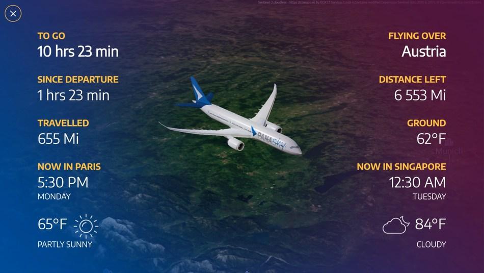 Panasonic Avionics new Arc Map Platform