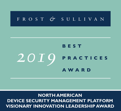 Mocana Recognized by Frost & Sullivan for Its Industry