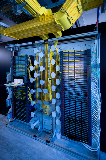 PRIME ODF Optical Distribution Frame Unites up to 5,376 Fibers