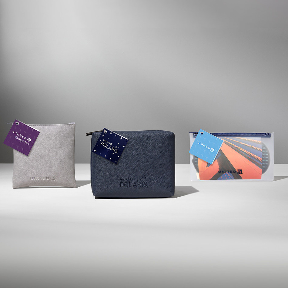 United's new amenity kit collection will begin its roll-out later this month onboard and in United Polaris lounges and United Club locations with shower facilities.