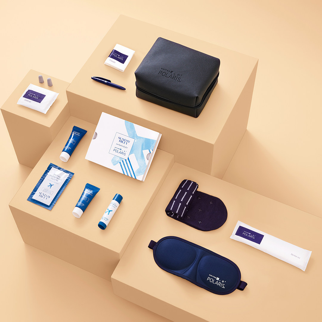 United Airlines Partners with Luxury Skincare Line Sunday