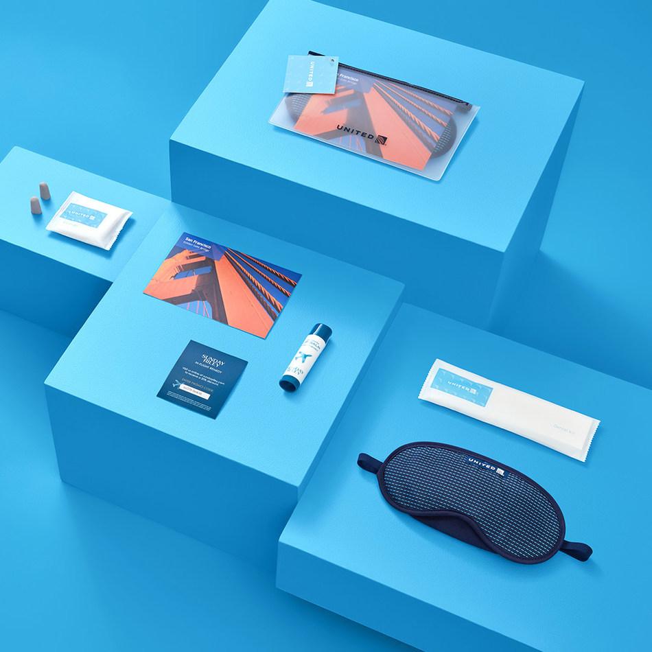 United Premium Transcon amenity kit will include the lip balm.
