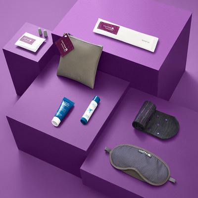 United Premium Plus amenity kit will include the lip balm and hand cream.