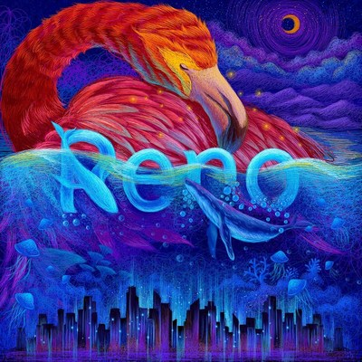 OPPO has partnered with artists around the world to share Reno's potential. A series of colorful artworks have now been released and provide a sneak peek into Reno's key features.