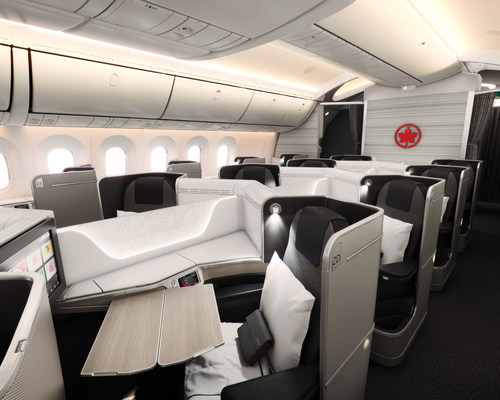 Air Canada Signature Class on our Boeing 787 Dreamliner. (CNW Group/Air Canada)