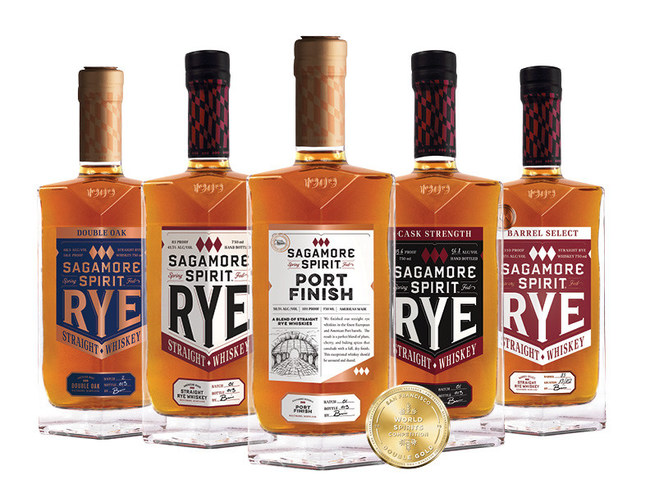 Sagamore Spirit Port Finish earned Double Gold status at the 2019 San Francisco World Spirits Competition, and with it, designation as the world's best rye whiskey