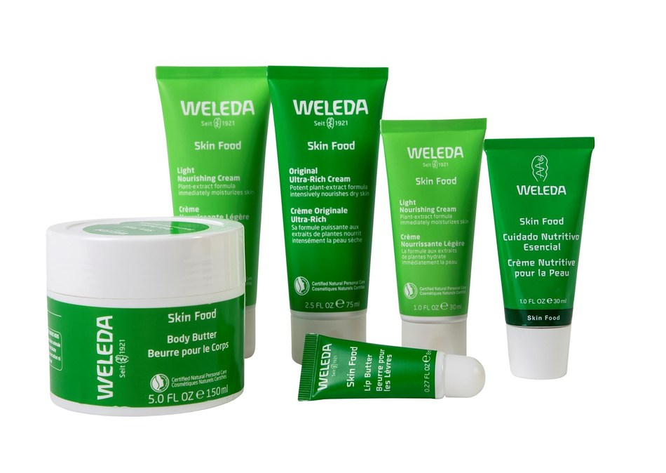 Through the Weleda Recycling Program, consumers can now send in their empty packaging from the entire Skin Food line of products to be recycled for free. (CNW Group/Weleda)