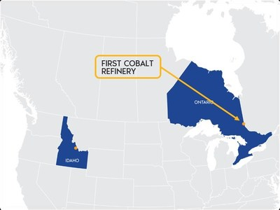 Image 2. Refinery is located 600km north of Canada-U.S. border (CNW Group/First Cobalt Corp.)