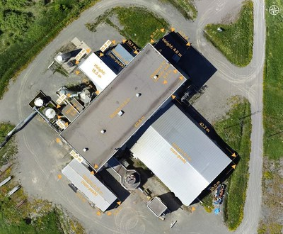 Image 4. First Cobalt Refinery Aerial View (CNW Group/First Cobalt Corp.)