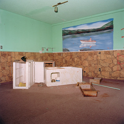 Ethan Murphy Abandoned Room 2017 From the series Where the Light Shines First inkjet print (CNW Group/Scotiabank)