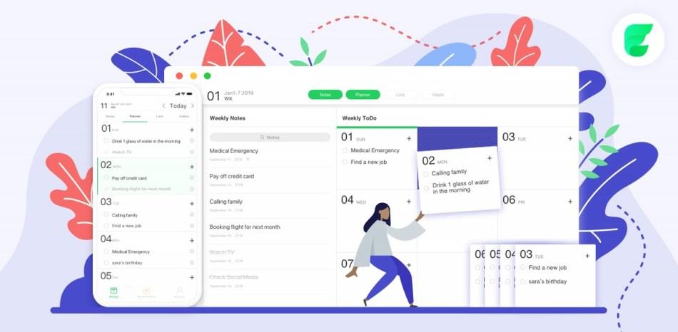 Elisi: Digital Bullet Journal App on All Mobile and Desktop Platforms