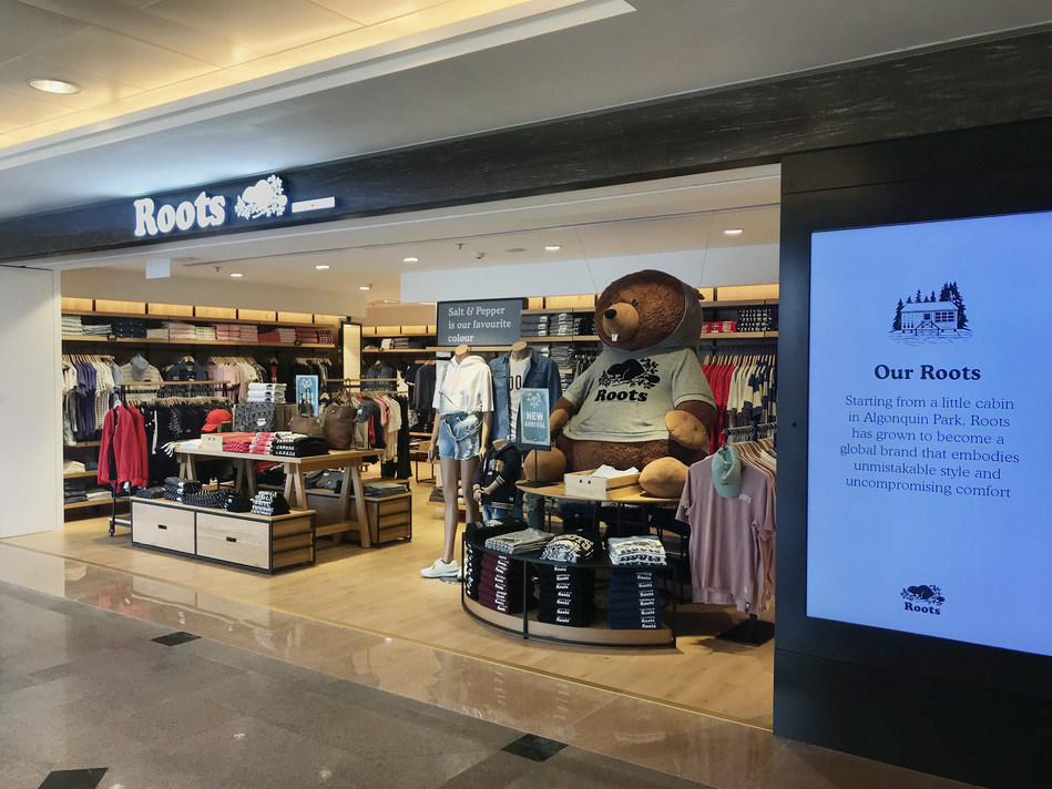 New Roots store in Hong Kong (CNW Group/Roots Corporation)