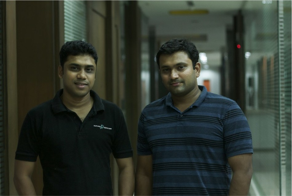 L-R: Shihab Muhammed, CEO & Co-founder, SurveySparrow & Subin Sebastian, CTO & Co-founder, SurveySparrow