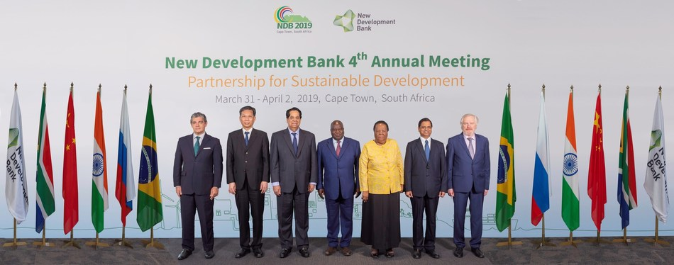 Group photo, 4th Annual Meeting of the New Development Bank