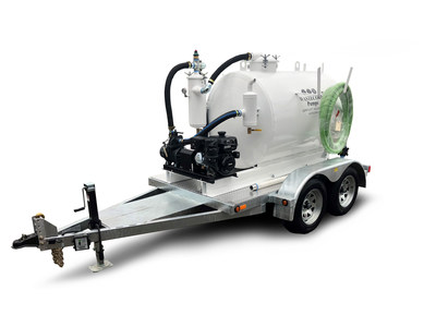 Super Duty Vacuum Pump. Manufactured by Wastecorp Pumps in the USA and Canada.