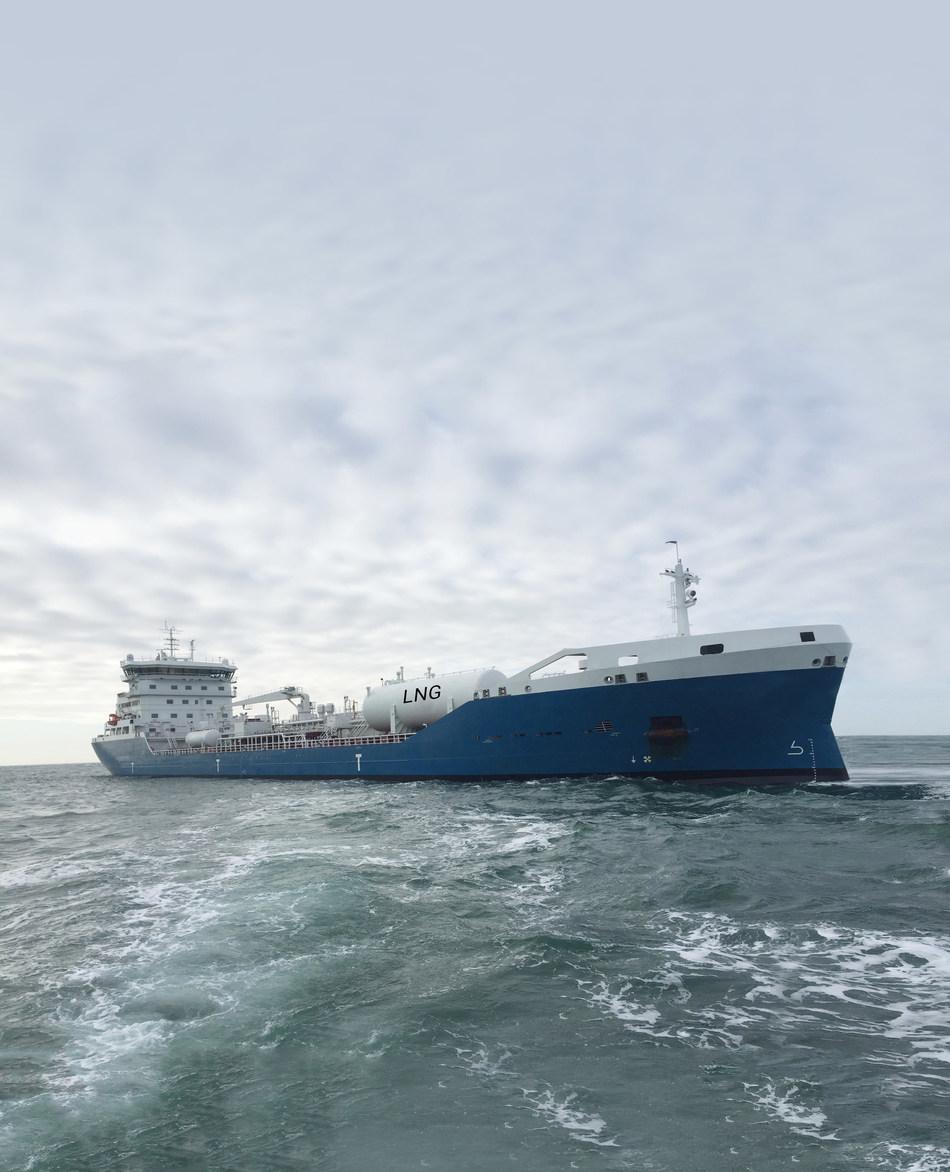 M/T Gaïa Desgagnés, dual-fuel/LNG oil/chemical tanker (CNW Group/Groupe Desgagnés inc.)