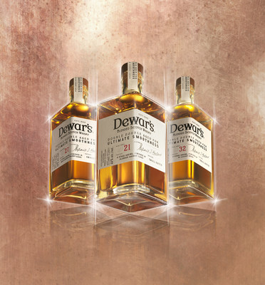 Double Double: Dewar's new whisky range has launched with three expressions