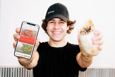 David Dobrik and the Dobrik Burrito