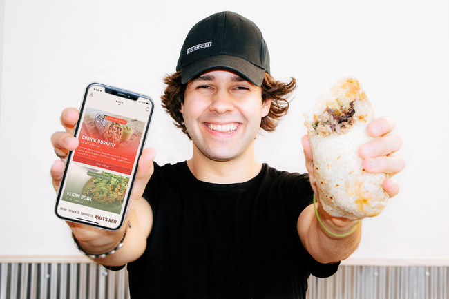 David Dobrik and the Dobrik Burrito