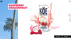 Stratus Group Beverage And AvatarLabs Launches New KÖE Kombucha Website