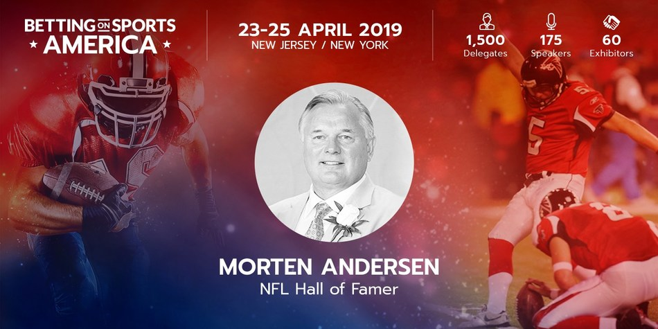 "Morten ""The Great Dane"" Andersen from his inauguration into the NFL Hall of Fame"