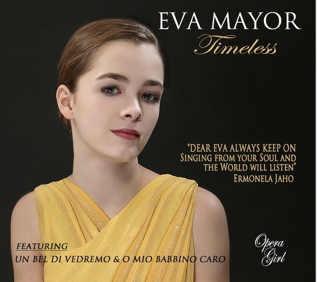 Cover of Eva Mayor's New CD