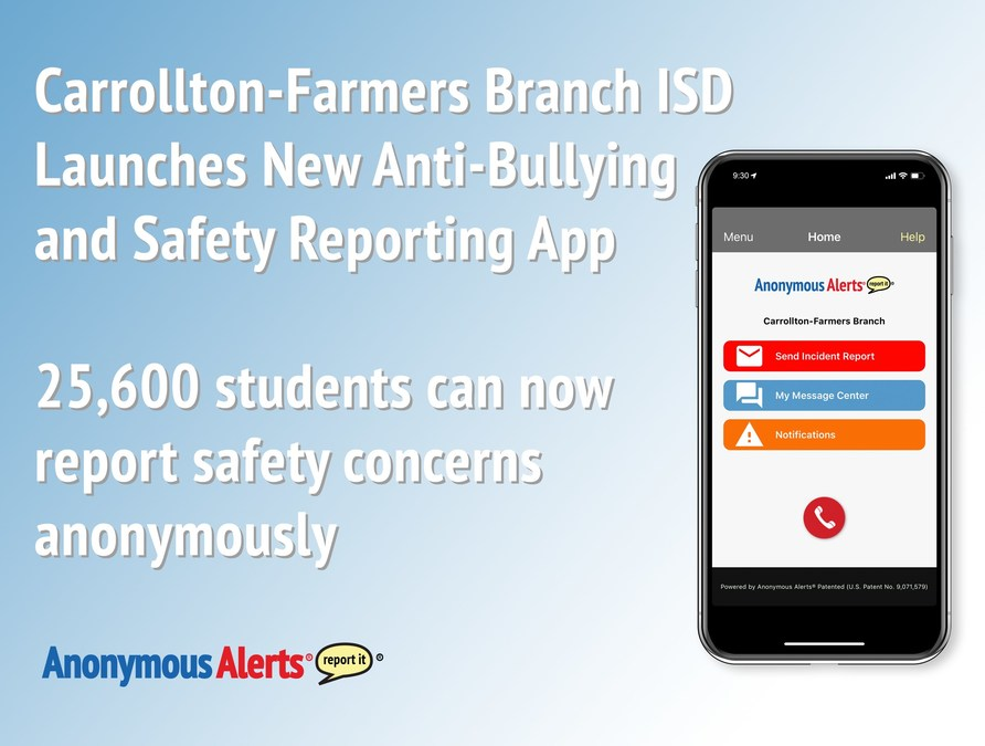 Anonymous Alerts App Augments New Safety Actions at