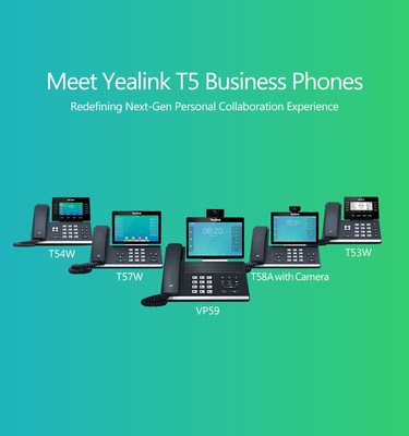 Yealink T5 Business Phone Series