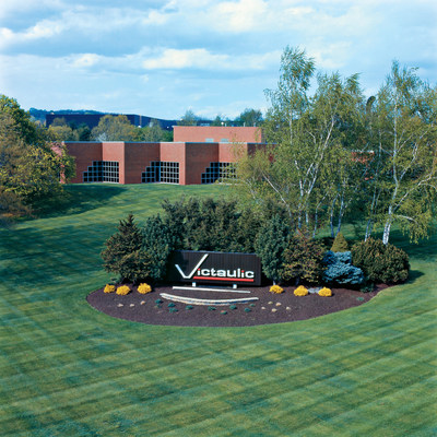 Victaulic World Headquarters, located in Lehigh Valley, Pennsylvania, Celebrates 100 Years of Innovation and Commitment to its Customers and Community. (PRNewsfoto/Victaulic)