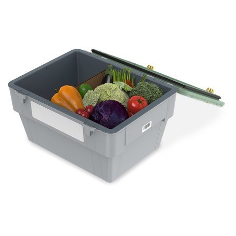 Liviri Fresh is a durable, insulated, reusable shipping container sized perfectly for meal kits and perishables like meat, seafood, produce, juices and more.