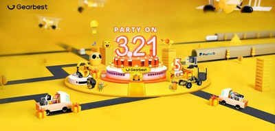 Gearbest Celebrates 5th Anniversary with Global Live Broadcast
