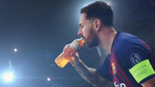 Leo Messi los hace sudar