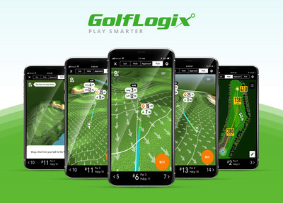 GolfLogix is the only on-course app that shows you the exact line of your putt to the hole, along with break, change in elevation and the speed of the green.