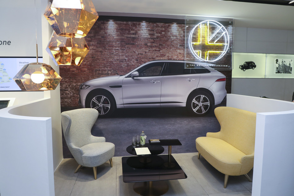 The launch of The British Collection at Hertz Marble Arch (London, UK) featuring best-of-British brands and service – with a range of Land Rover and Jaguar luxury models.