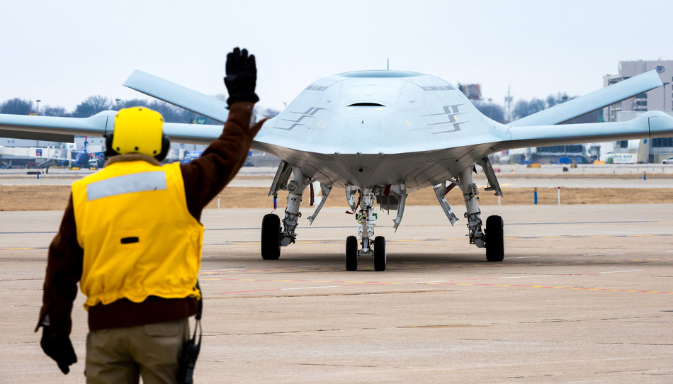 Boeing MQ-25. Photo courtesy of Boeing Defense.