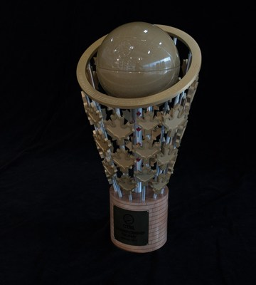 The CEBL Championship Trophy (CNW Group/Canadian Elite Basketball League)