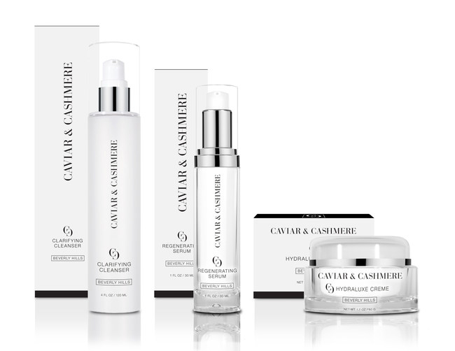 Caviar & Cashmere, a new skincare line by fashion and beauty influencer Caitlyn Chase, has officially launched and is available online and at select retail locations across the country.